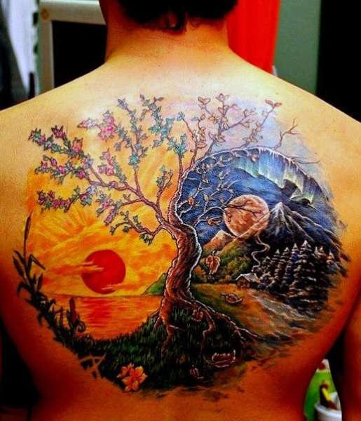 Yin Yang Tattoo Na Tatuaże Zszywkapl