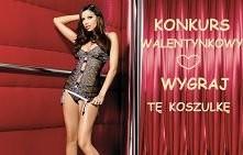 Taki prezent z pewnością będzie doskonałym wstępem do romantycznego wieczoru we dwoje ;) Konkurs na naszym profilu na fb :)