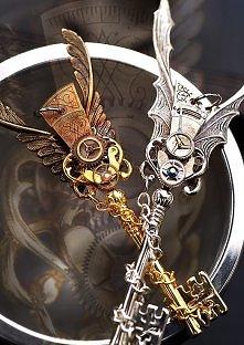Steampunkowe klucze
