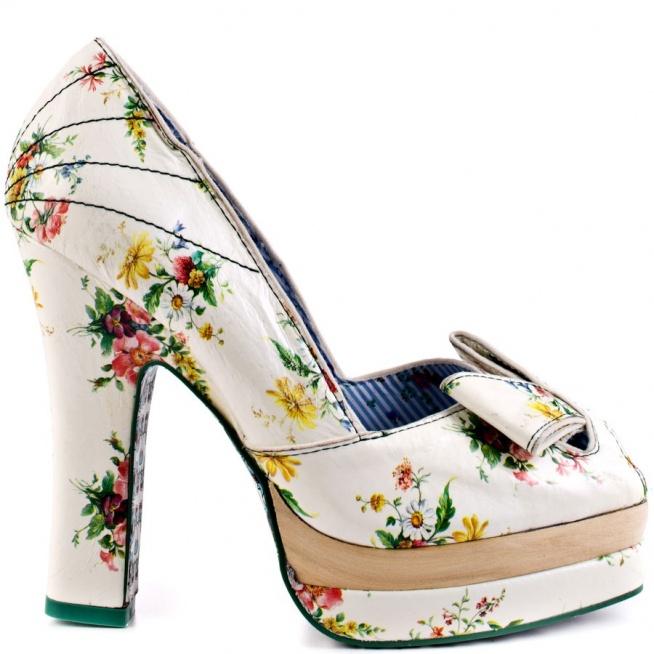 Irregular choice buty ślubne
