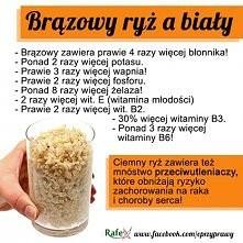 Jedzcie brązowy ryż :)