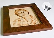 portret w ramie na prezent - klik
