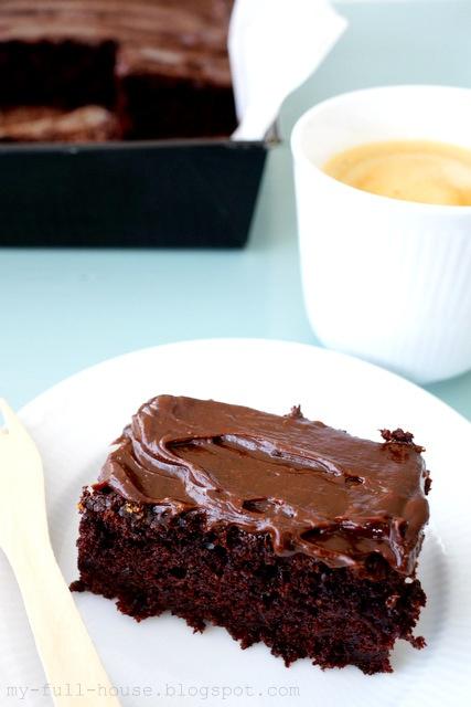 Obłędne (choć dietetyczne!) ciasto czekoladowe