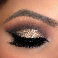 imprezowy makijaż :)