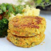 Cieciorkowo - marchewkowo - dyniowe kotleciki, czyli zdrowy, pożywny i pyszny obiad   przepis po kliknięciu w zdjęcie