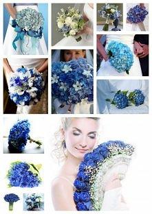 Niebieskie bukiety:)