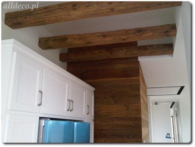 Belki Ze Starego Drewna Dekoracja Sufitu Na Aranżacje W