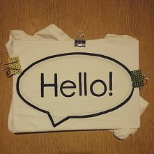 koszulka diy :)