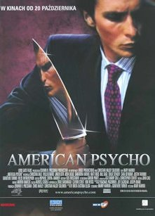 """Ekranizacja kontrowersyjnej powieści Breta Eastona Ellisa """"American Psycho"""" opowiada o losach Patricka Batemana (Christian Bale), przystojnego, wykształconego i niezwy..."""