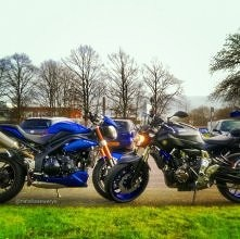 Triumph Speed Triple 1050 &...