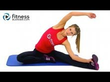 Lower Body Stretching Routine for Flexibility - Fitness Blender Cool Down Str...
