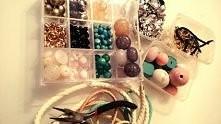 Biżuteria hand made :-)   święta minęły i koniec z bombkami więc próbuje swoich sił w tworzeniu biżuterii :-)