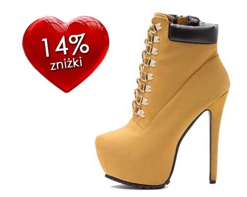 Do 13 lutego - 14%zniżki na dowolną parę butów <3