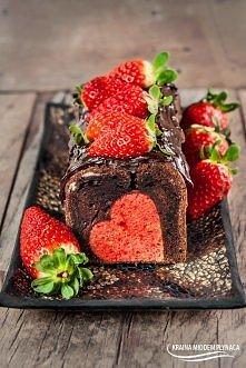 Przepiękne ciasto czekolado...