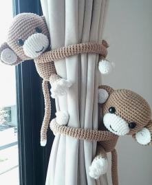 Szydełko...we małpki