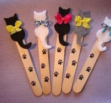 zakładki - kotki :)