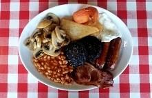 Angielskie śniadanie.