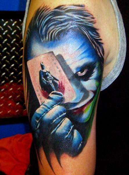 Tatuaż Jokera Na Tatuaże Zszywkapl