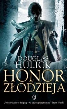 """Książka """"Honor złodzie..."""