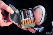 Kolorowe papierosy