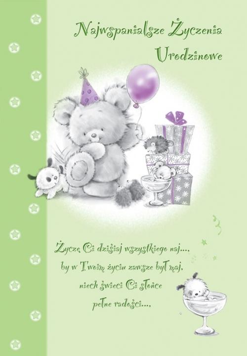Najlepsze życzenia Urodzinowe Na Kartki Zszywkapl