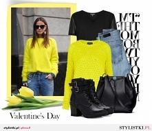 Żółty sweter <3