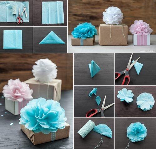 opakowanie prezentu DIY