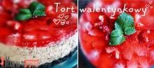 Walentynkowy tort na spodzie oreo :) zaskocz ukochanego! <3 Szybki i prost...