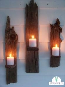 ... śliczne świeczniki