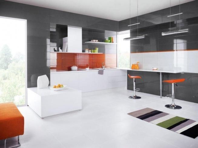 Kuchnia - Projekt otwartej kuchni nowoczesnej :)- Calvado