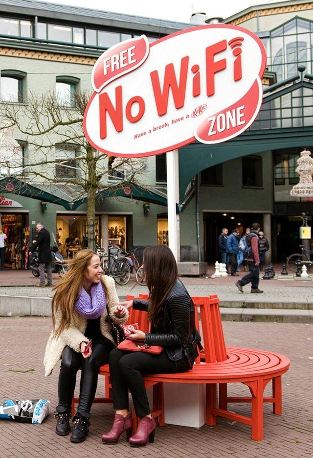 No WiFi ZONE :)