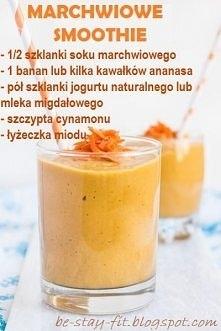 Marchwiowe smoothie