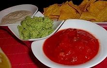 Sos meksykański do nachosów