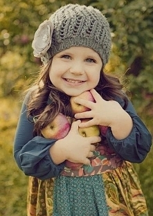 urocza dziewczynka