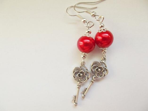 kolczyki kluczyki  klik na zdjęcie