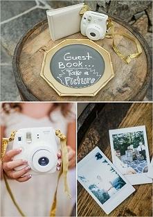 KSIĘGA GOŚCI ze zdjęciami! Świetny pomysł na atrakcję! Fotobudka inaczej:)