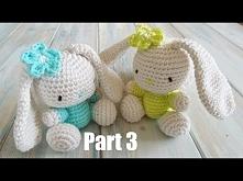 (crochet) Pt3: How To Crochet an Amigurumi Rabbit - Yarn Scrap Friday