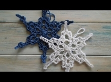 (crochet) How To - Crochet a Snowflake