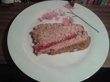 Ciasto cynamonowo- cytrynowe z masą jell-o *2 szklanki mąki *1/3 szklanki cuk...