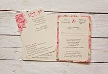 Oryginalne zaproszenia ślub...