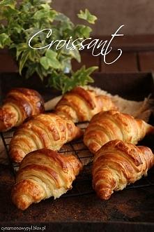 Croissant  Przepis po kliknięciu w zdjęcie! ♥