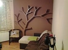 Półka jak drzewo 210x200x18cm