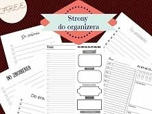 Strony do organizera, listy do zrobienia