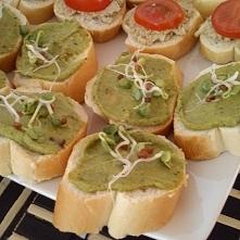 Pesto z brokuła na kanapki
