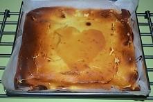 Przepis na szybki sernik <3 Składniki: - 1 kg sera białego zmielonego/wiad...