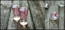 Wódka o smaku gumy balonowej   składniki:  250 ml wódki 1 opakowanie (6 sztuk...