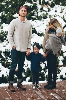 O założeniu takiej szczęśliwej rodziny marzę...