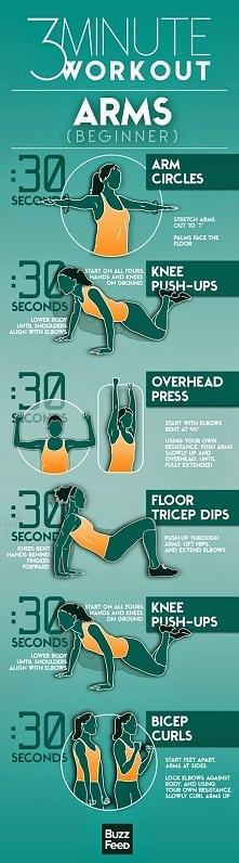 trzyminutowy trening rąk :D