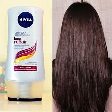 W ostatniej niedzieli dla włosów spróbowałam też pierwszy raz odżywki nivea long repair oto efekty