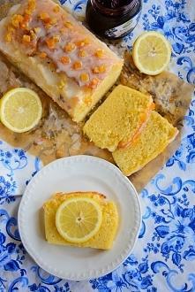 """Ciasto cytrynowe   """"Ciasto lekkie, miękkie, przyjemnie wilgotne (to nie ..."""